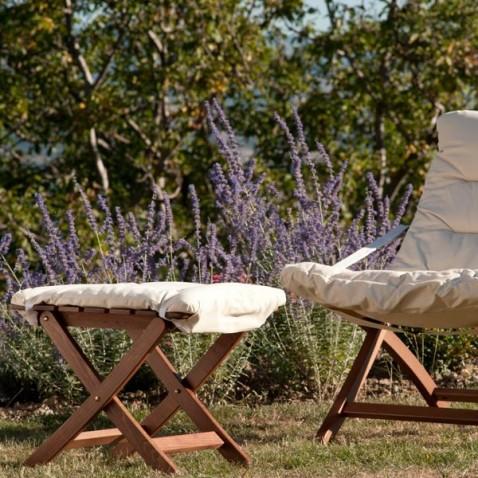 Table basse ext rieur autentica la boutique desjoyaux - Fabriquer un repose pied en bois ...