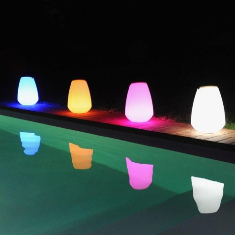 Lampe de jardin Halo