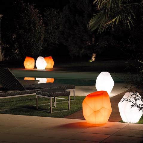 Pot de fleurs lumineux Ego Light