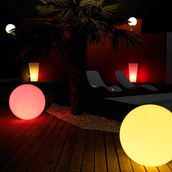 Pot lumineux alto la boutique desjoyaux - Pot lumineux jardin ...