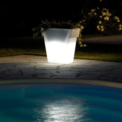 Pot lumineux jardin Vaso Light 55 cm