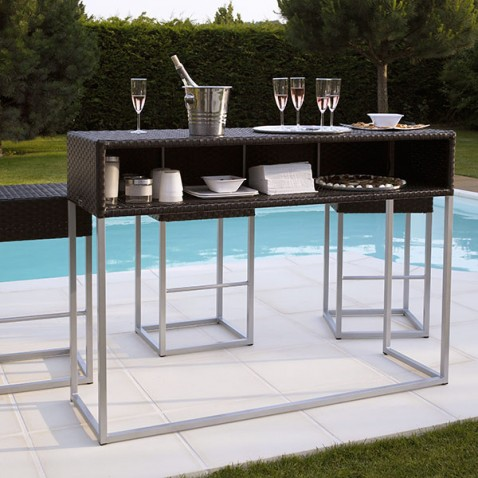 table haute jardin dolce vita la boutique desjoyaux. Black Bedroom Furniture Sets. Home Design Ideas