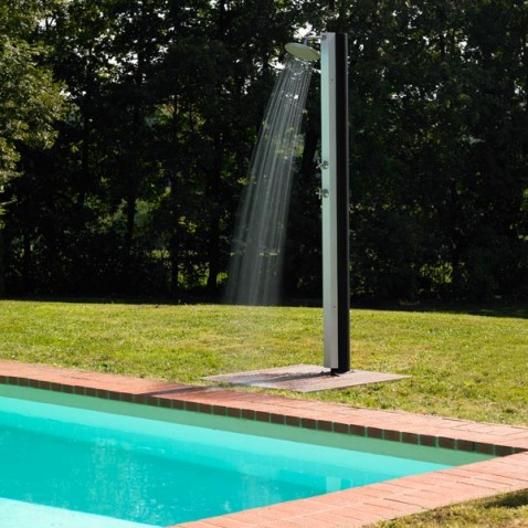 douche de piscine little shower la boutique desjoyaux On douche exterieure piscine