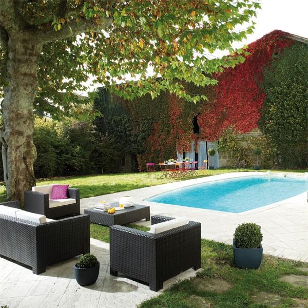 Emejing Salon De Jardin En Teck Lille Gallery - Amazing House ...