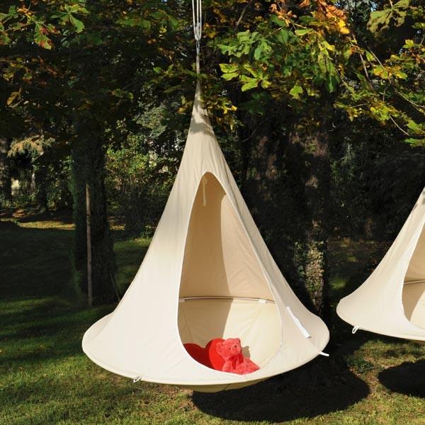 Tente suspendue nido la boutique desjoyaux Tente de jardin metro