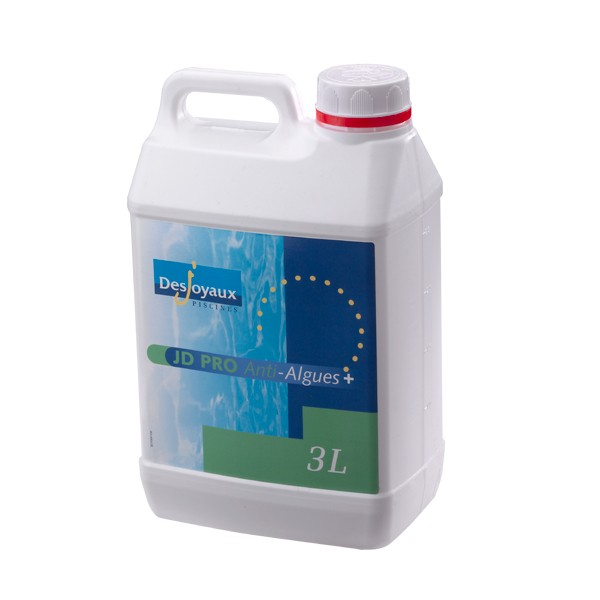Algicide sans chlore jd pro anti algues plus la boutique for Algicide piscine