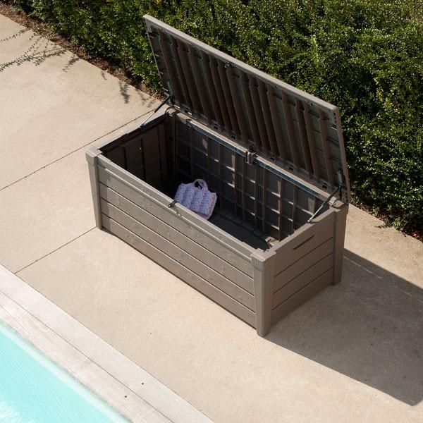 Coffre de rangement jardin id es de d coration et de mobilier pour la conce - Coffre rangement castorama ...
