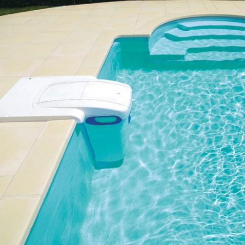 Couvercle insonoris pf i 180 sable la boutique desjoyaux for Filtre piscine desjoyaux