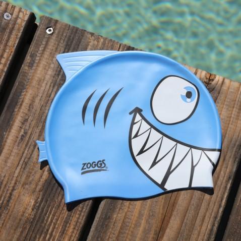 Bonnet piscine enfant Requin