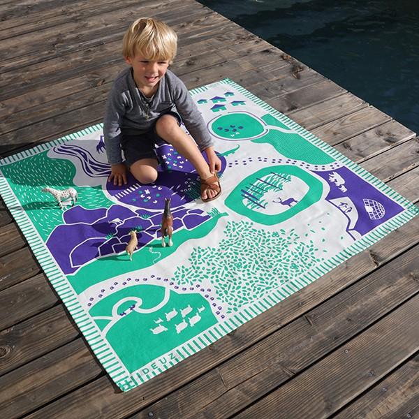 tapis de jeu enfant tapikid animaux la boutique desjoyaux. Black Bedroom Furniture Sets. Home Design Ideas