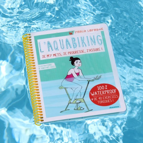 Livre Aquabike waterproof  L'aquabiking