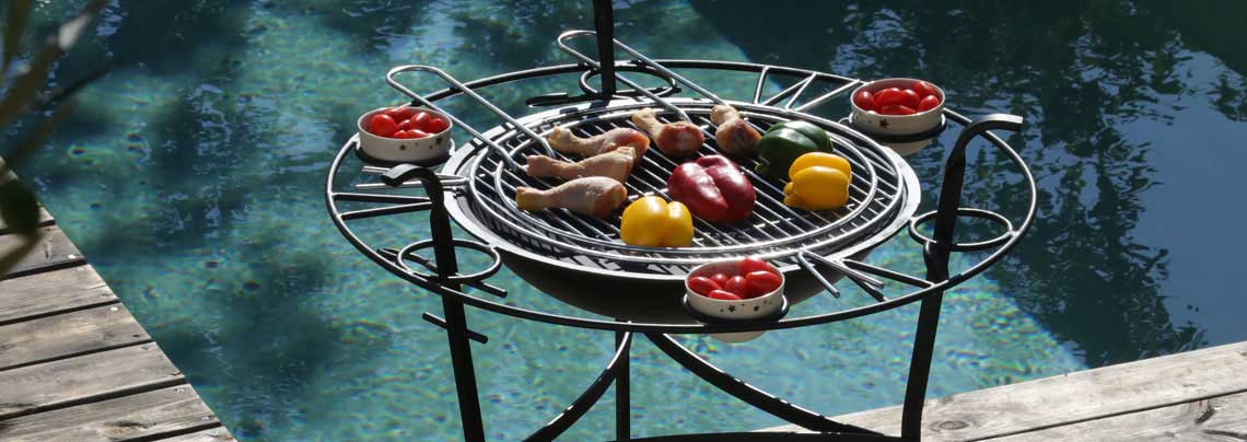 barbecue de jardin la boutique desjoyaux. Black Bedroom Furniture Sets. Home Design Ideas