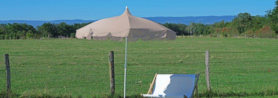 parasol et voile de jardin la boutique desjoyaux. Black Bedroom Furniture Sets. Home Design Ideas