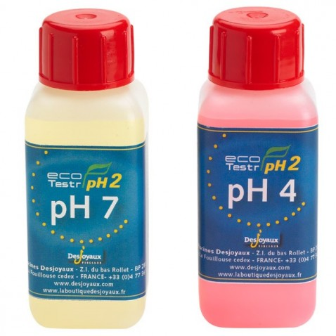Solution d'étalonnage pH Eco TestR pH2
